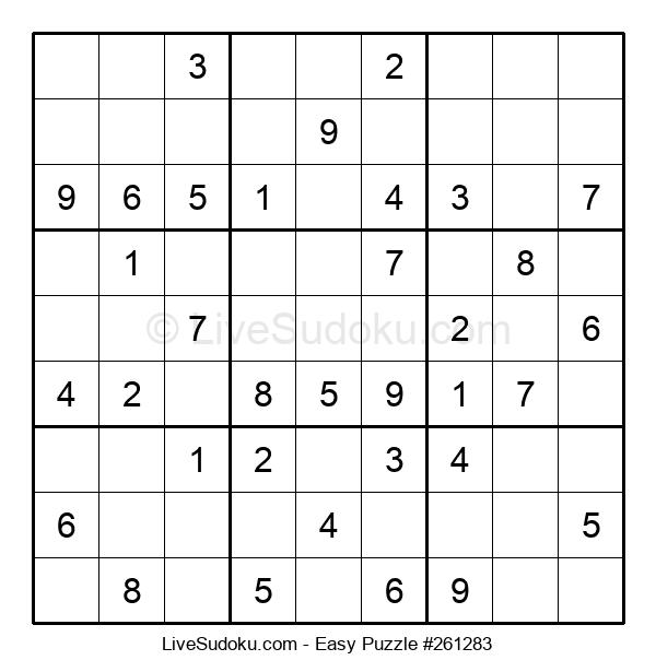 Beginners Puzzle #261283