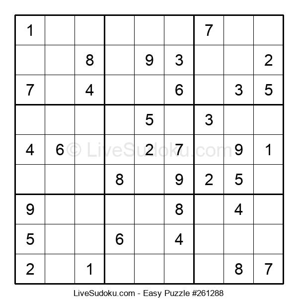 Beginners Puzzle #261288