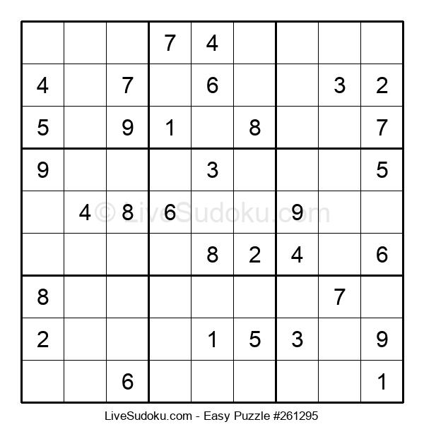 Beginners Puzzle #261295