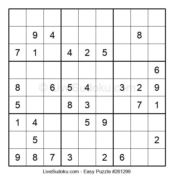 Beginners Puzzle #261299