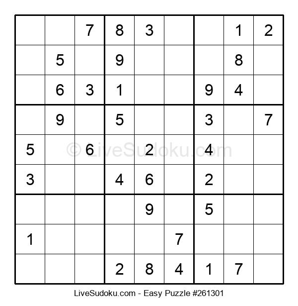 Beginners Puzzle #261301