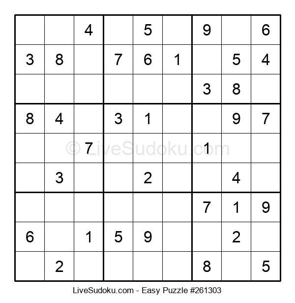 Beginners Puzzle #261303