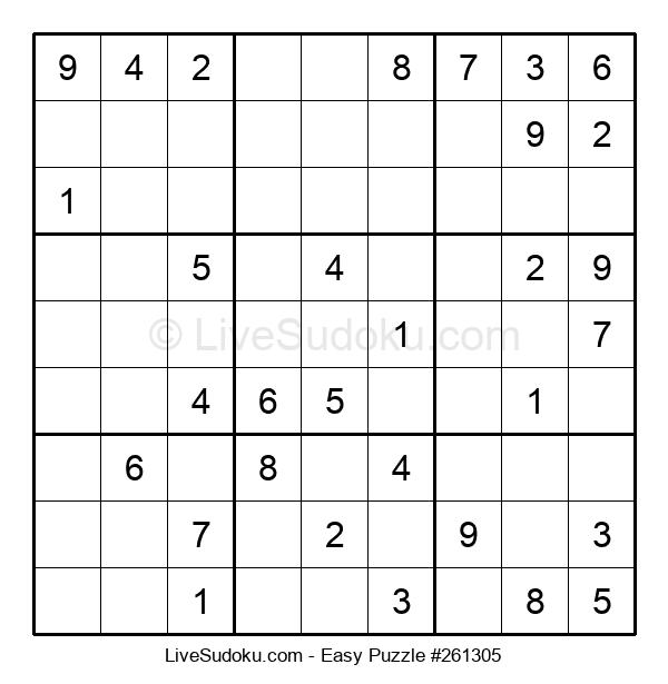 Beginners Puzzle #261305