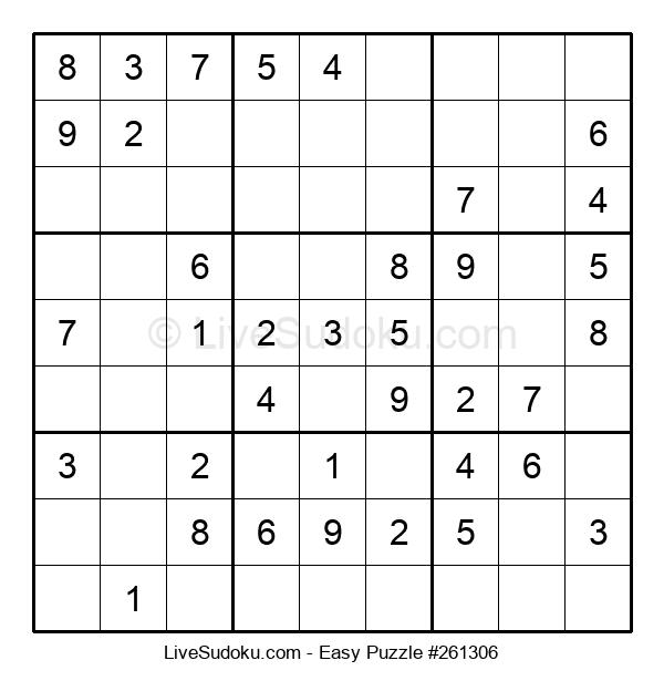 Beginners Puzzle #261306