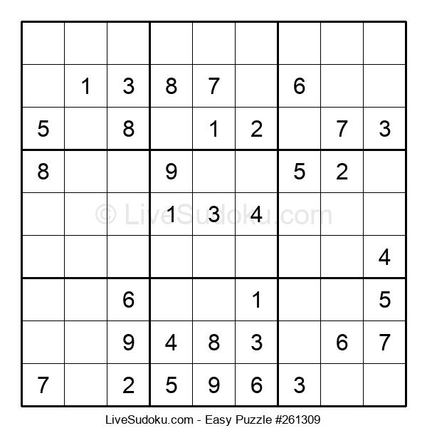 Beginners Puzzle #261309