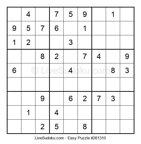 Beginners Puzzle #261310