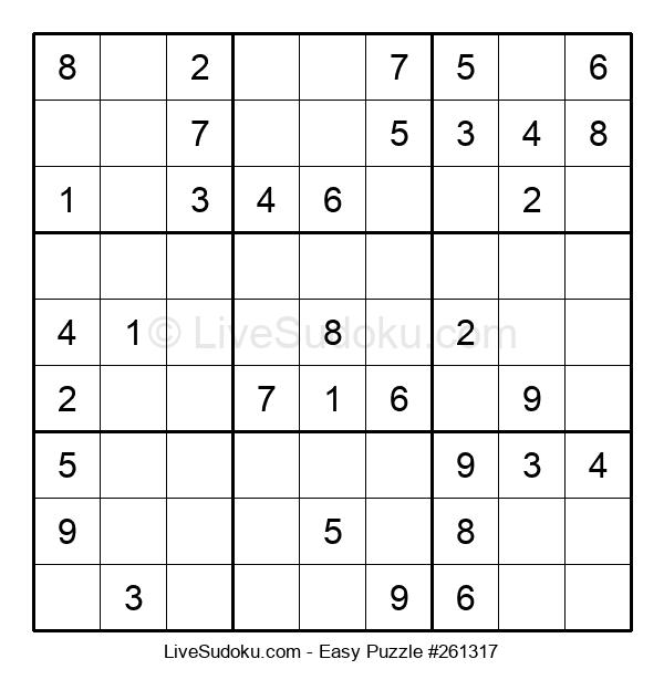 Beginners Puzzle #261317