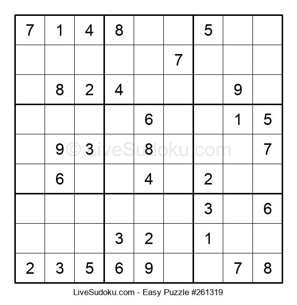 Beginners Puzzle #261319