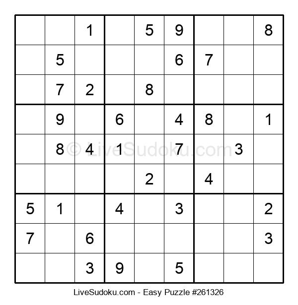 Beginners Puzzle #261326