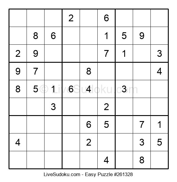 Beginners Puzzle #261328