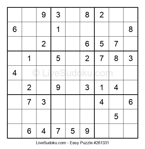 Beginners Puzzle #261331
