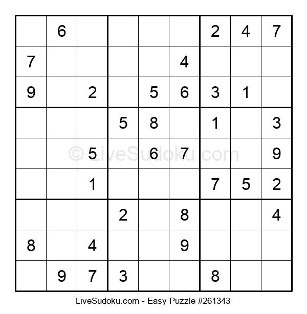 Beginners Puzzle #261343