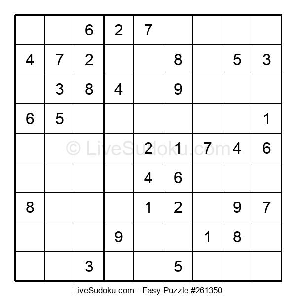 Beginners Puzzle #261350