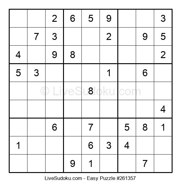 Beginners Puzzle #261357