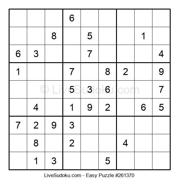 Beginners Puzzle #261370