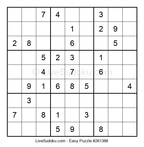 Beginners Puzzle #261388