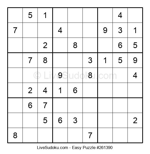 Beginners Puzzle #261390