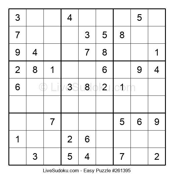 Beginners Puzzle #261395