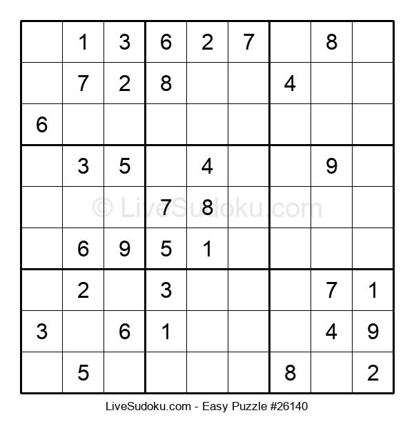Beginners Puzzle #26140