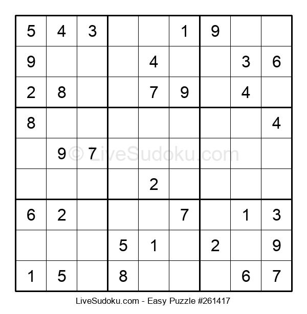 Beginners Puzzle #261417