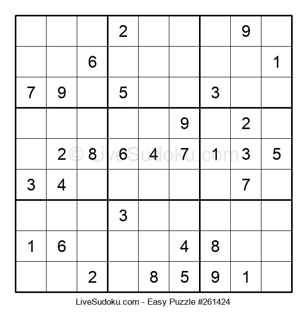 Beginners Puzzle #261424