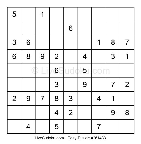 Beginners Puzzle #261433