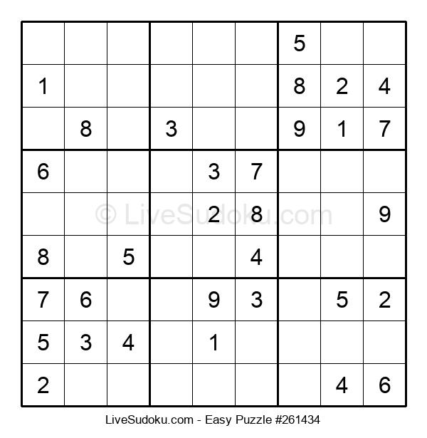 Beginners Puzzle #261434