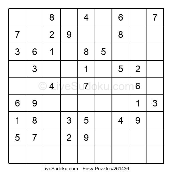 Beginners Puzzle #261436
