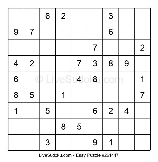 Beginners Puzzle #261447