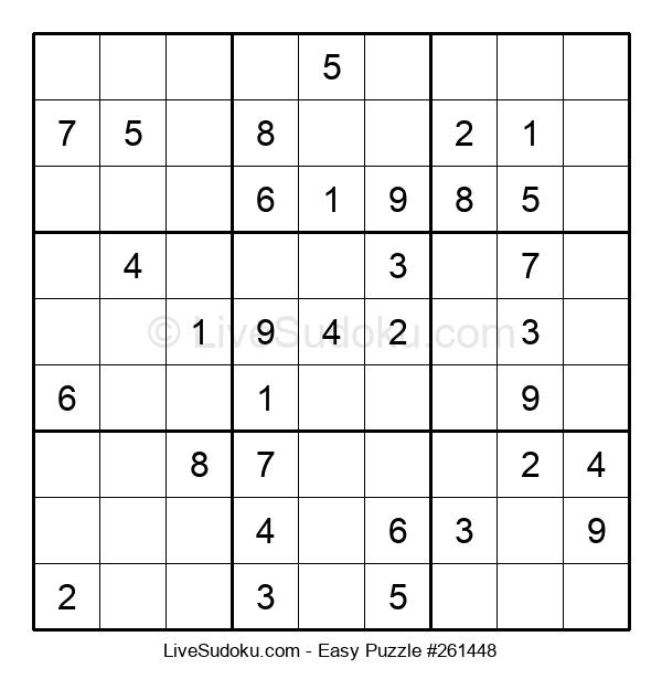 Beginners Puzzle #261448