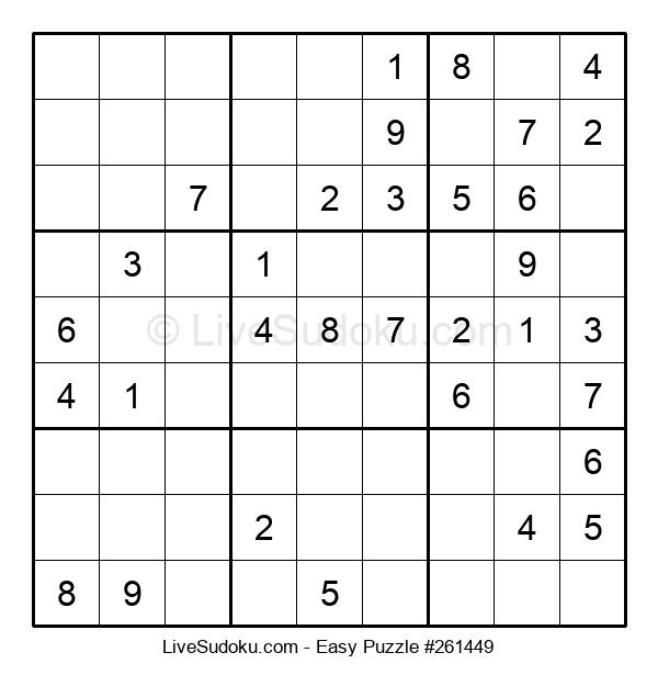 Beginners Puzzle #261449