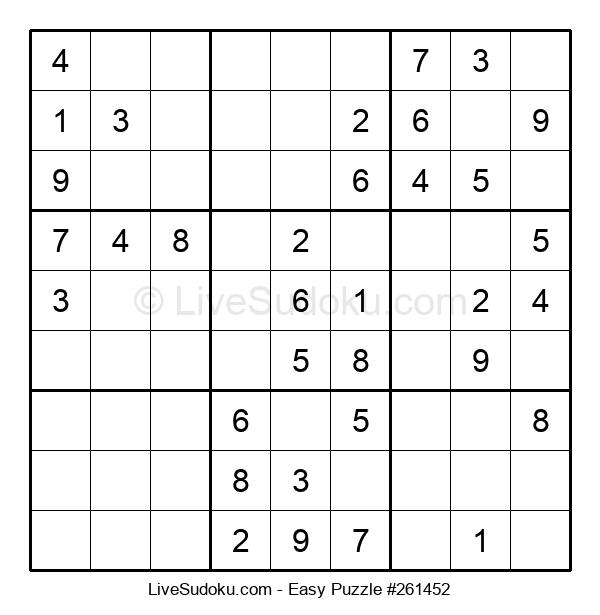 Beginners Puzzle #261452
