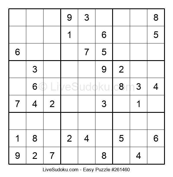 Beginners Puzzle #261460