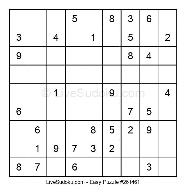 Beginners Puzzle #261461
