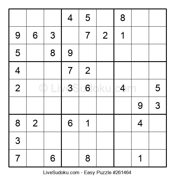Beginners Puzzle #261464