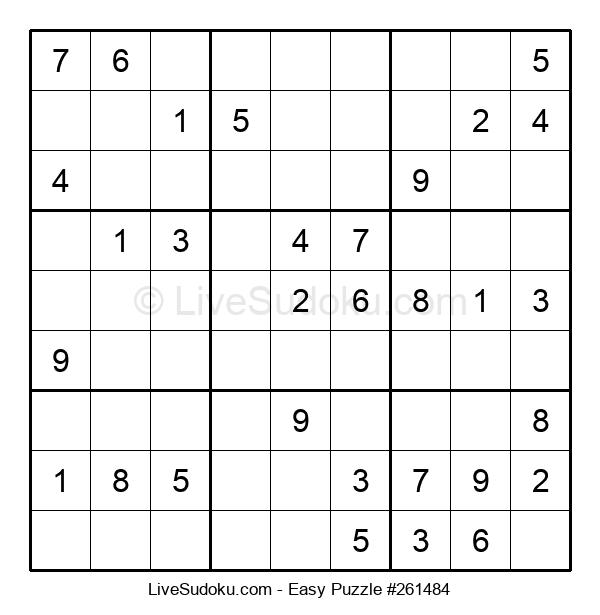 Beginners Puzzle #261484