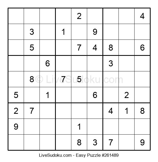 Beginners Puzzle #261489