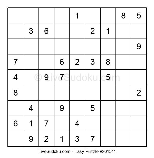 Beginners Puzzle #261511