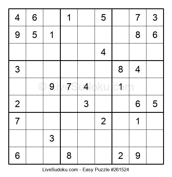 Beginners Puzzle #261524
