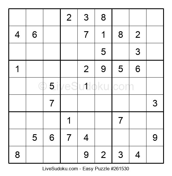 Beginners Puzzle #261530