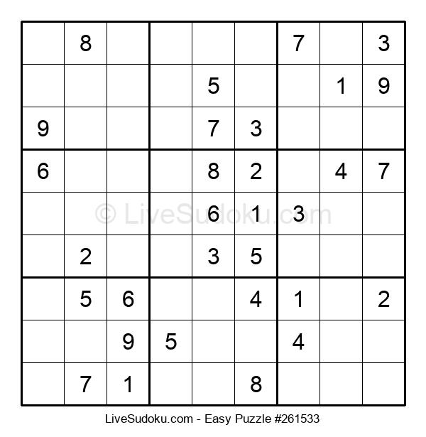 Beginners Puzzle #261533