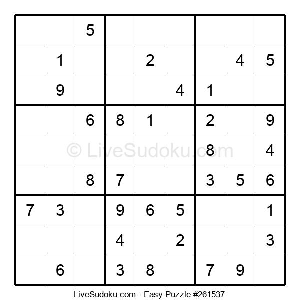 Beginners Puzzle #261537