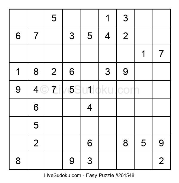 Beginners Puzzle #261548