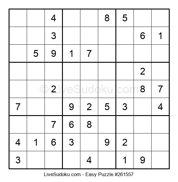 Beginners Puzzle #261557
