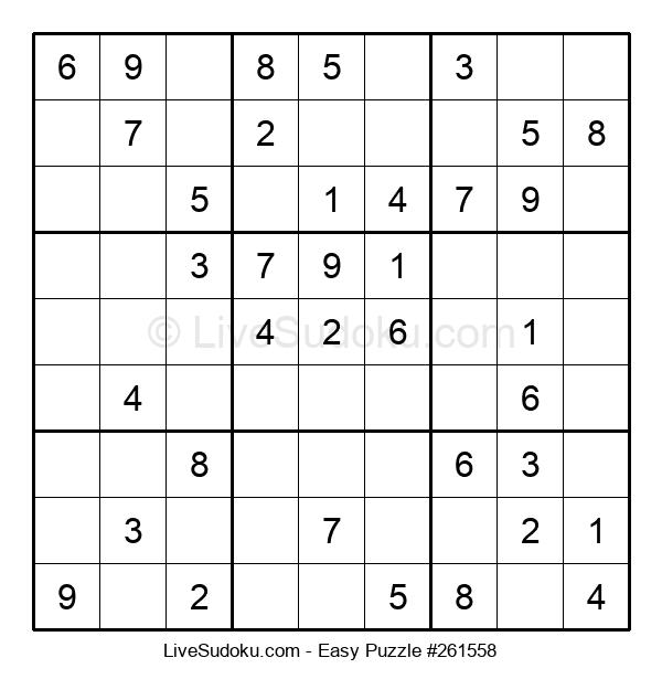Beginners Puzzle #261558