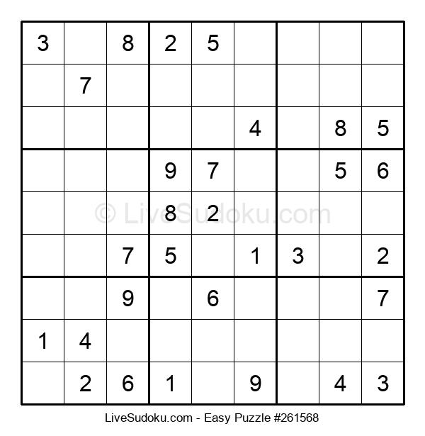 Beginners Puzzle #261568