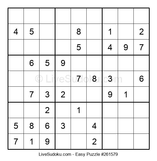 Beginners Puzzle #261579