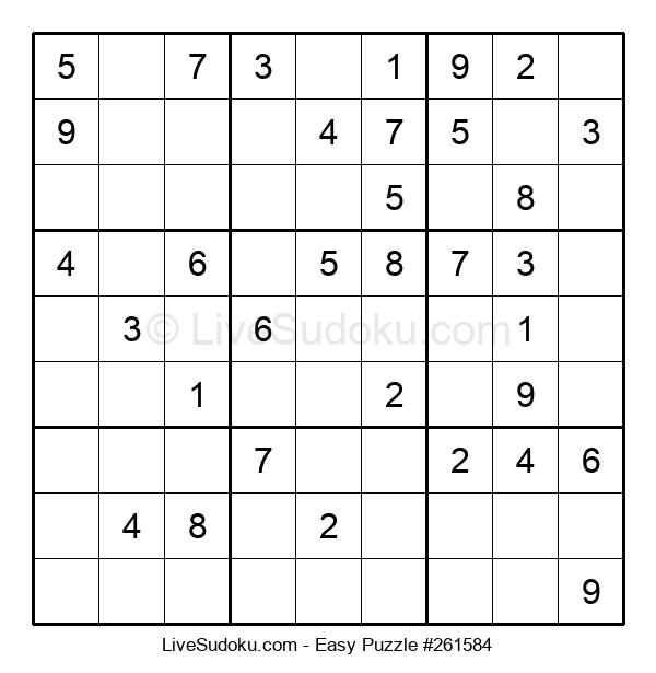 Beginners Puzzle #261584