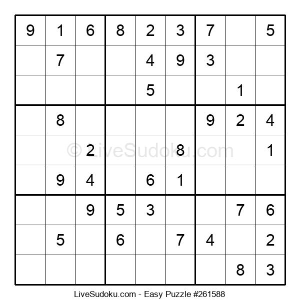 Beginners Puzzle #261588