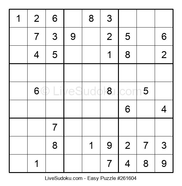 Beginners Puzzle #261604